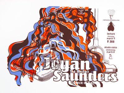 CalArts poster: Joyan Saunders by Anita Lozinska Sharon Cardinal