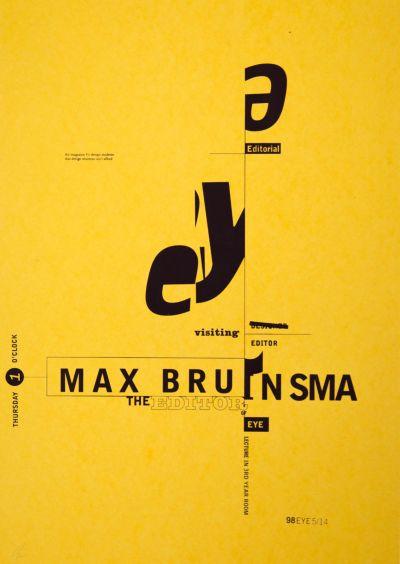 CalArts poster: Max Bruinsma by