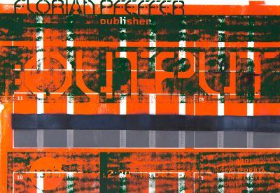 CalArts poster: Florian Pfeffer by Michael Kohnke