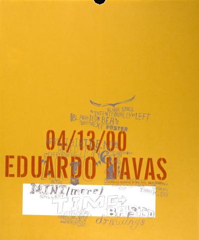 CalArts poster: Eduardo Navas by John Kieselhorst