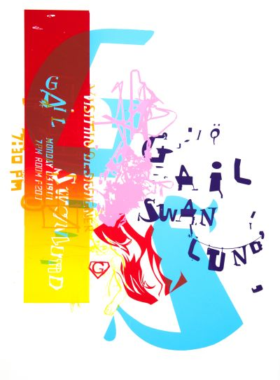 CalArts poster: Gail Swanlund by Karen Hirt Tuan Phan