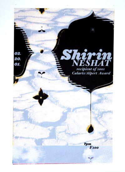 CalArts poster: Shirin Neshat by Suthada Wadkhien