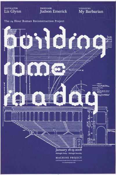 CalArts poster: Building Rome In A Day by Diego Padilla