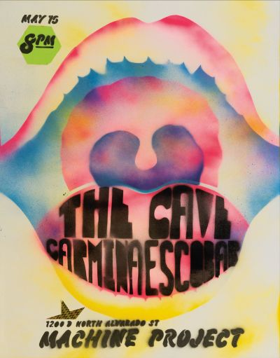 CalArts poster: The Cave by Amun Levy