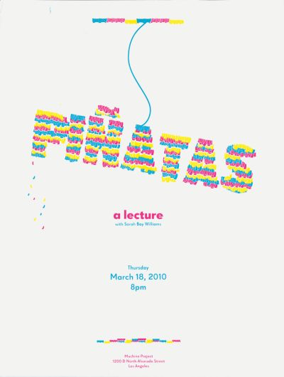 CalArts poster: Piñatas: A Lecture by Gregory Coats