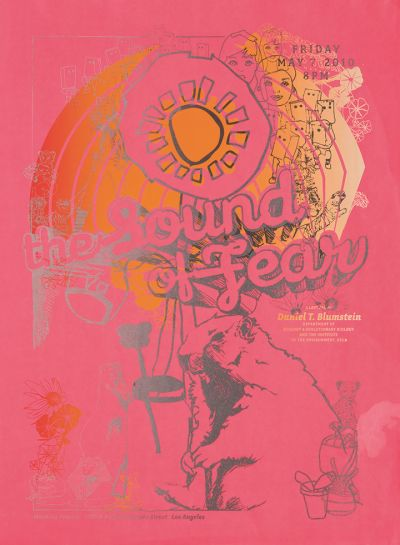 CalArts poster: The Sound of Fear by Chris Morabito Peter Kaplan