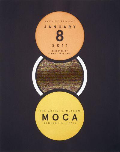 CalArts poster: Film Screening MOCA by Gregory Coats