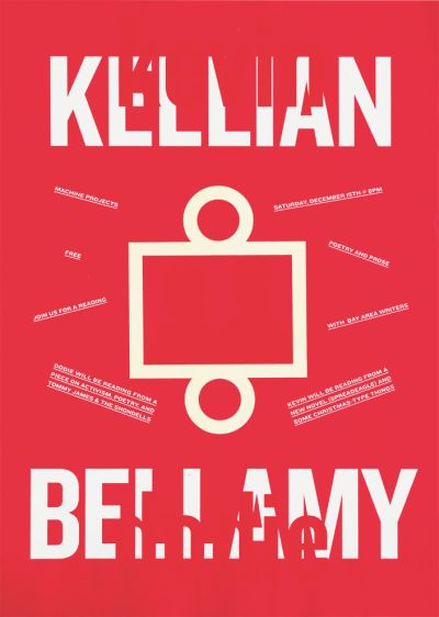 CalArts poster: Kellian and Bellamy by Alex Pines Thea Lorentzen