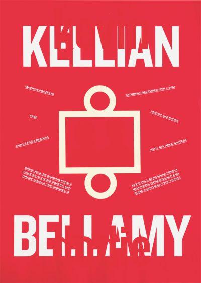 CalArts poster: Kellian and Bellamy by Alex Pines Thea Lorentzen