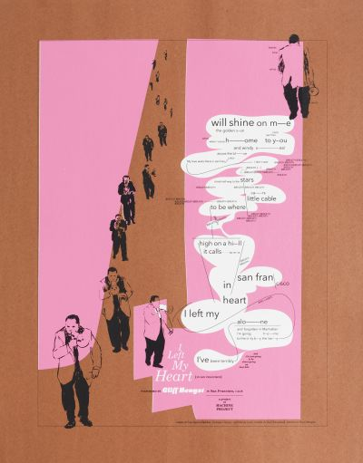 CalArts poster: I Left My Heart in San Francisco by Gail Swanlund
