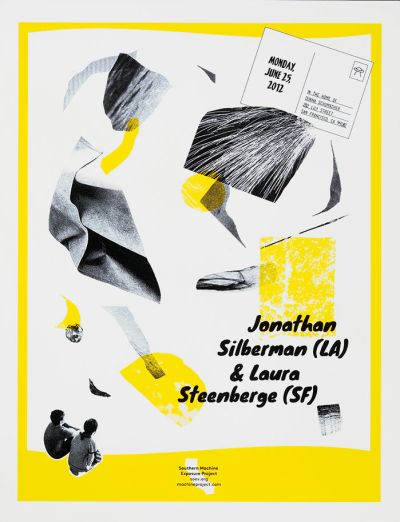 CalArts poster: Jonathan Silberman and Laura Steenberge by Tiffanie Tran