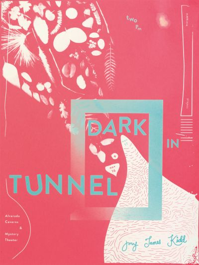 CalArts poster: Dark in Tunnel by Cindi Kusuda