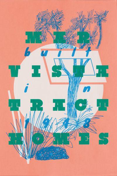 CalArts poster: Mar Vista Tract Homes by Tiffanie Tran