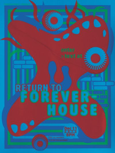 CalArts poster: Return to Forever House by Margaret Andersen Sohee Kim