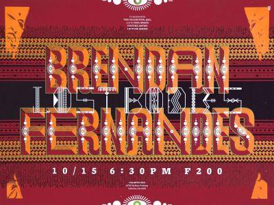 CalArts poster: Brendan Fernandes: Lost Bodies by Dasol Jung Henrique Eira