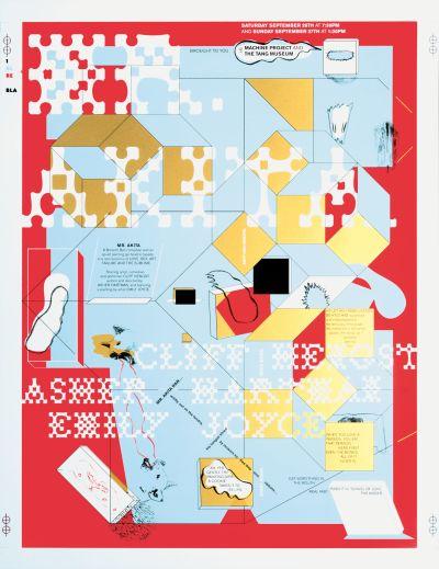 CalArts poster: Mr Akita by Gail Swanlund