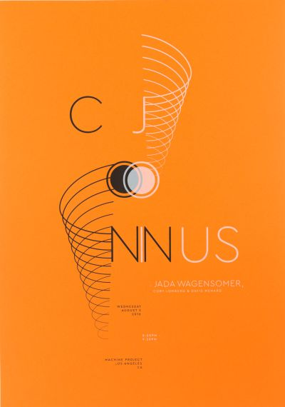 CalArts poster: Conjoin Us by Gregory Coats