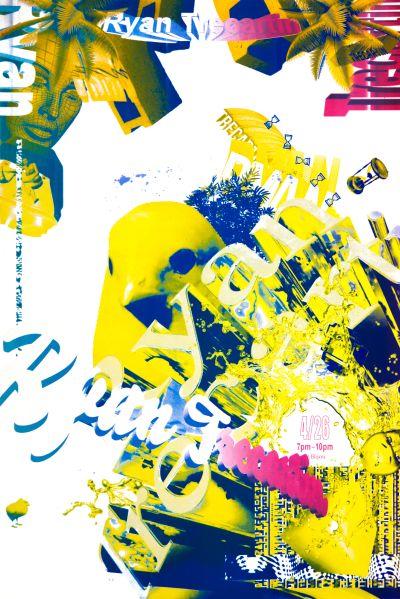 CalArts poster: Ryan Trecartin by Henrique Eira Jae Ee Sohee Kim [II]