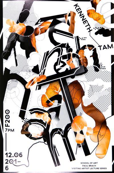 CalArts poster: Kenneth Tam by Junki Hong Sohee Kim [II]
