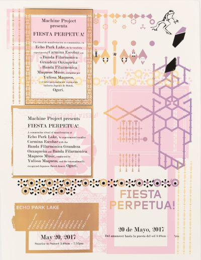 CalArts poster: Festiva Perpetua by Gail Swanlund