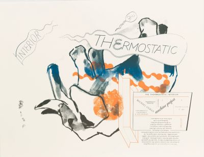 CalArts poster: The Thermostatic Interior by Gail Swanlund