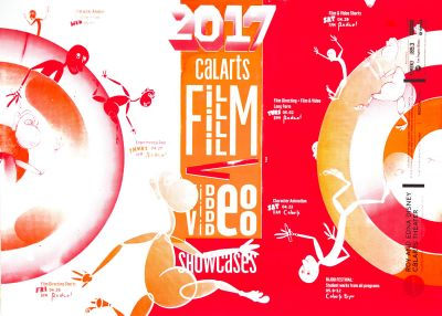 CalArts poster: REDCAT: 2017 CalArtsFilm/Video Showcases by