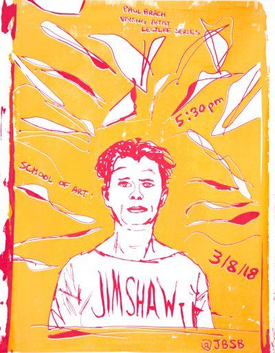 CalArts poster: Jim Shaw by Kathy Bates