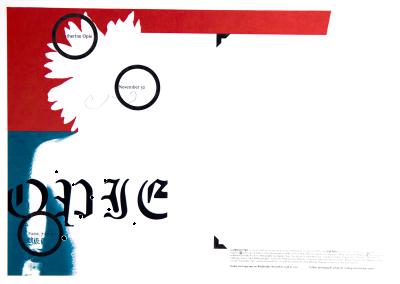 CalArts poster: Catherine Opie by Glen Nakasako Weston Bingham