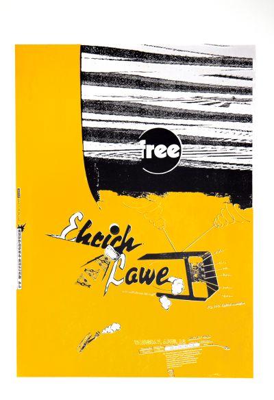 CalArts poster: Ehrich Lawe by Joseph Monnens