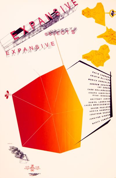 CalArts poster: Expansive Objects Expansive by