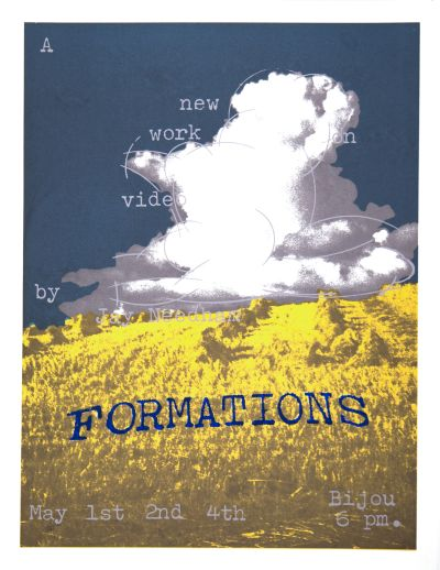 CalArts poster: Jay Needham: Formations by
