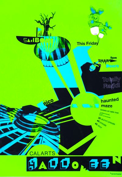 CalArts poster: Haunted Maze by