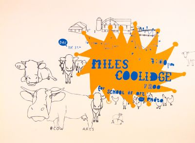 CalArts poster: Miles Coolidge by