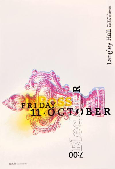 CalArts poster: Ross Bleckner by