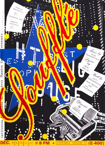 CalArts poster: Ensemble Theatre II: Soufflé by