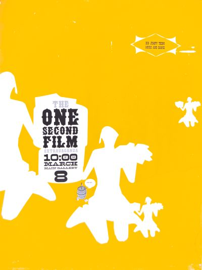 CalArts poster: The One Second Film by