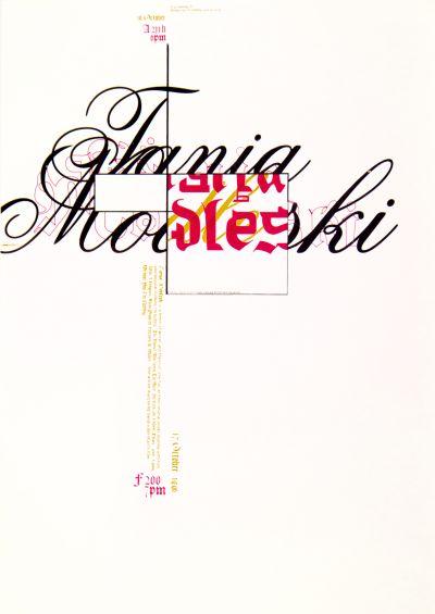 CalArts poster: Tania Modleski by Dave Ewald