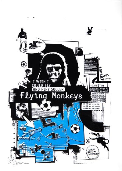 CalArts poster: Flying Monkeys by Christopher Selby