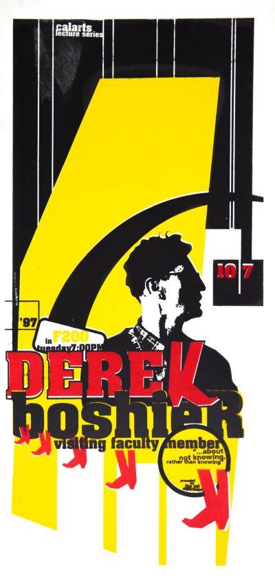 CalArts poster: Derek Boshier by HweeMin Loi