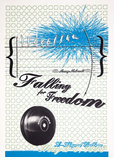 CalArts poster: Falling for Freedom by Micah Hahn
