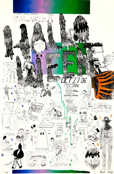 CalArts poster: 2006 CalArts Halloween by Beau Johnson