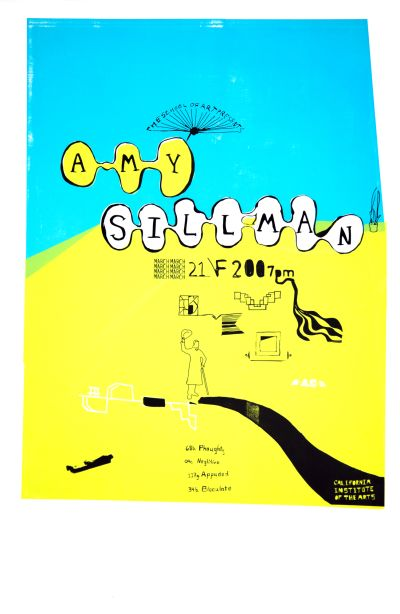 CalArts poster: Amy Sillman by