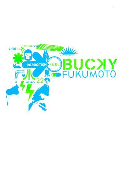 CalArts poster: Bucky Fukumoto by Tim Koh