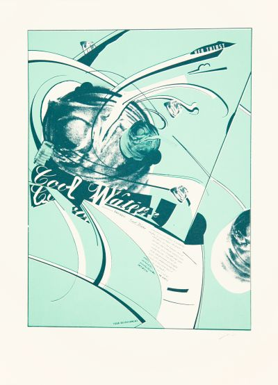 CalArts poster: Cool Water by Joseph Monnens