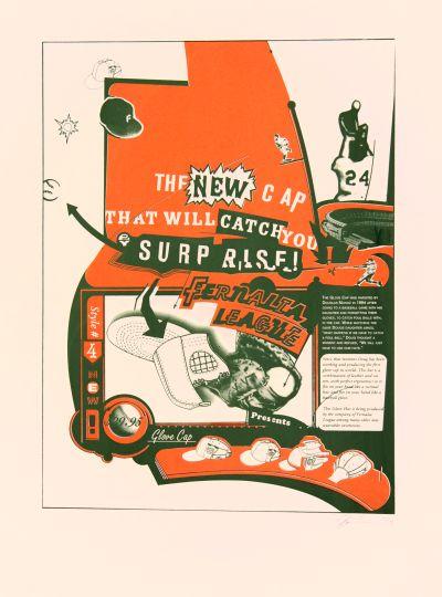 CalArts poster: Fernalia League Presents Glove Cap by Joseph Monnens