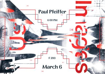 CalArts poster: Paul Pfeiffer by Jessica Kao