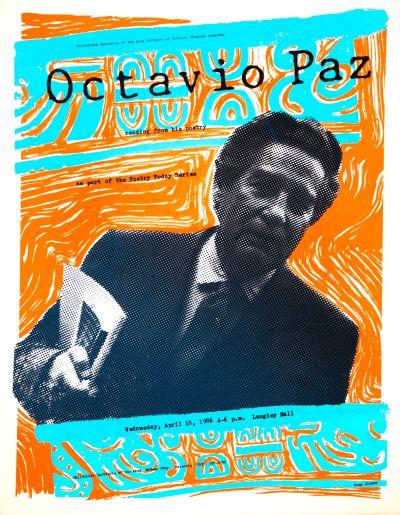 CalArts poster: Octavio Paz by Troy Alders