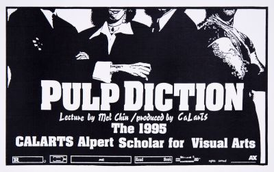 CalArts poster: Pulp Diction by