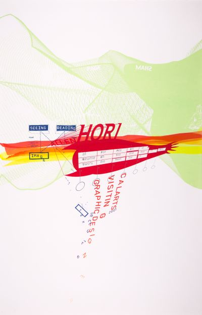 CalArts poster: Allen Hori by Jon Sueda Tuan Phan