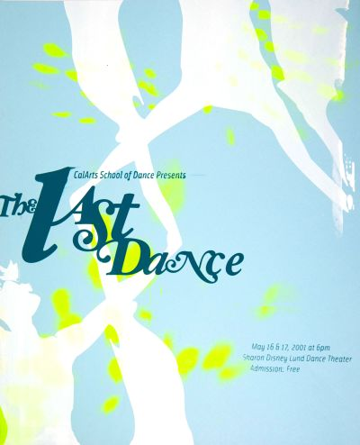 CalArts poster: The Last Dance by